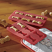 set of 2 dog biscuit molds