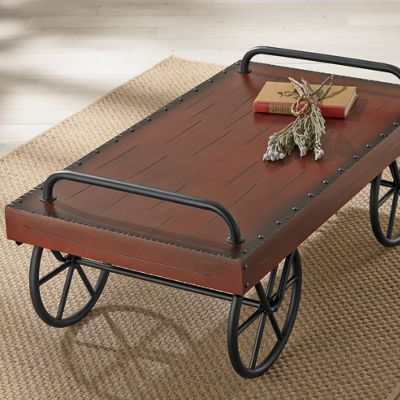 leeds coffee table from through the country door | nw44017
