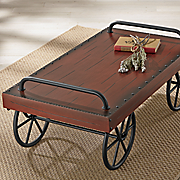 Cart Cocktail Table