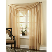 Crushed Voile Window Treatments