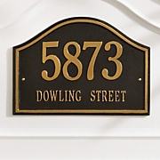 Nantucket Address Marker
