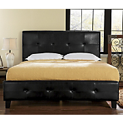 Tufted Platform Bed