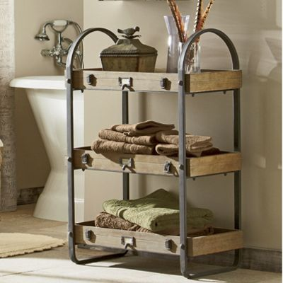 3-Tiered Shelving Unit