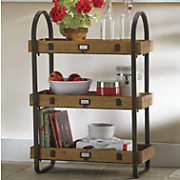 3 tiered shelving unit