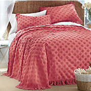 Candace Chenille Bedspread & Sham