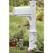newport mailbox stand