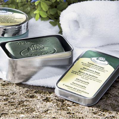 Gardeners Soap in Modern Tin