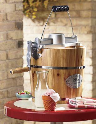 4-Quart Old Fashioned Ice Cream Maker