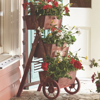 3-Tier Flower Cart