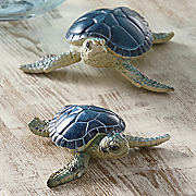 set of 2 sea turtles 2014