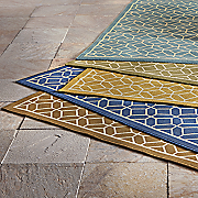 honeycomb indoor outdoor rug