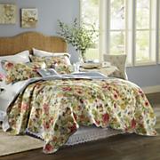 Westport Oversized Reversible Cotton Quilt, Sham, Pillows and Shower Curtain