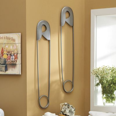 Safety Pin Wall Art From Through The Country Door 44733