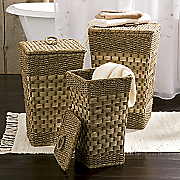Set of 3 Seagrass Hampers