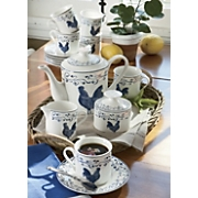 Coffee Set, Blue...