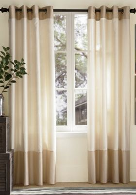 ... 2 Tone Curtains Mercer Two Tone Grommet Top Panels From Ginny S ...