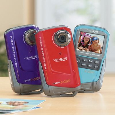 1080 Hd Camcorder by Vistaquest