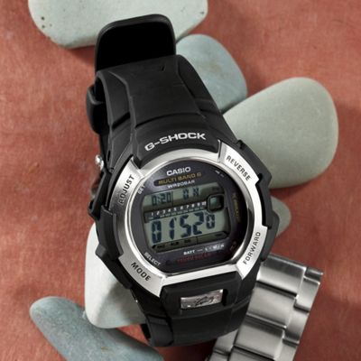 Men's G-Shock Round Solar Watch by Casio