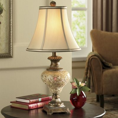 night light base crackle lamp from seventh avenue ey45188. Black Bedroom Furniture Sets. Home Design Ideas