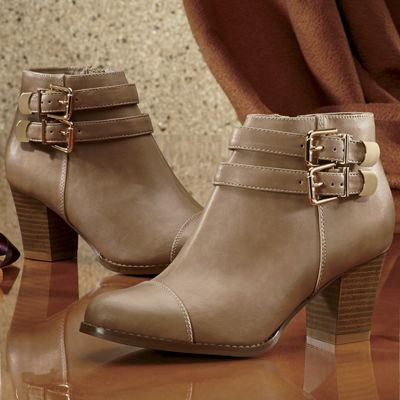 Freshica Cap Toe Bootie by Montgomery Ward