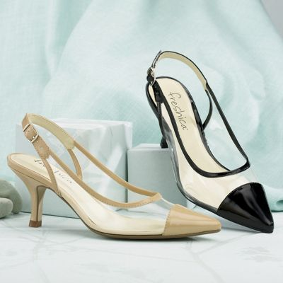 Freshica Crystal Clear Slingback by Montgomery Ward