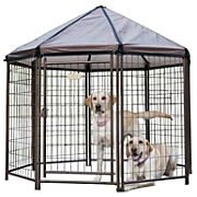 estate style portable pet gazebo