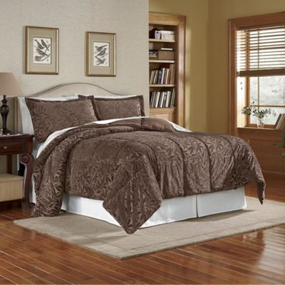 Embossed Leaf Bed Set
