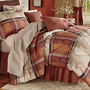 Kentwood Complete Bed Set, Pillow and Window Treatments
