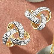 Knot Post Earrings
