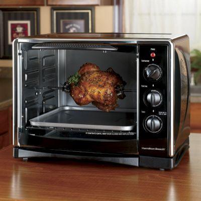 Hamilton Beach<sup class='mark'> &reg;</sup> Toaster/Rotisserie Convection Oven