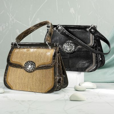 Lynne Turnlock Bag by Marc Chantal