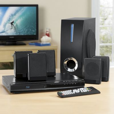 5.1 Channel Blu-Ray Home Theater System