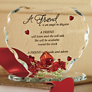 Glass Heart for Friend