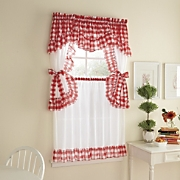Samantha Check Cottage Window Treatments