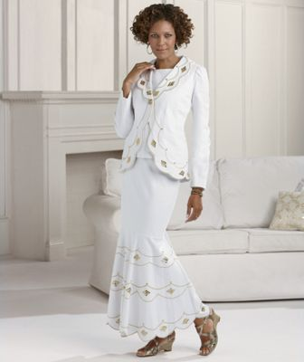 3-Piece Twill Ensemble by Odeliah, From Tally Taylor