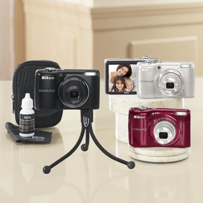 16.1 MP Coolpix Camera Bundle by Nikon
