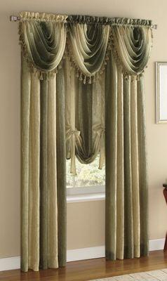 Window Treatments, Ombre Semi-Sheer
