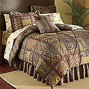 Dakar Bed Set, Curtains, Valance, Pillow