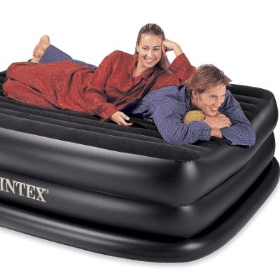 Rising Comfort Raised Queen Airbed by Intex