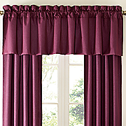 color connection thermal pinch pleat valance