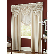 Anna Faux Silk Panels, Valances & Tie-up Shade