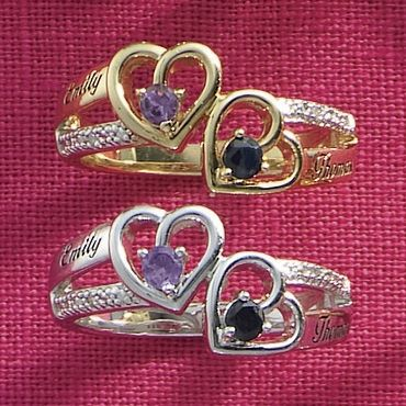 Someone Special Birthstone/Name Ring