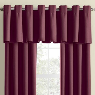 Color Connection Thermal Grommet Valance by Montgomery Ward