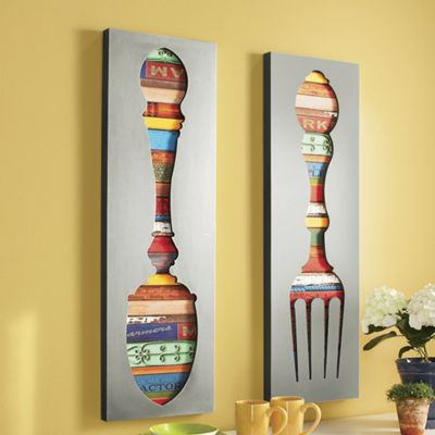 Http Ginnys Com Fork And Spoon Wall Decor Pro