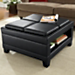 5-Piece Convertible Ottoman Table