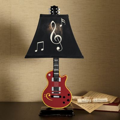 American Roots Guitar Lamp