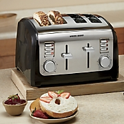 2-Slice or 4-Slice Toaster by Black & Decker