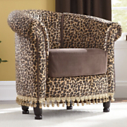 Chair, Leopard Tub