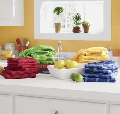 12-Piece Fruit Microfiber Towel Set