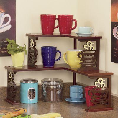 Coffee Corner Shelf
